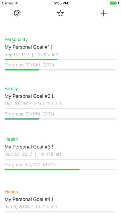 SimpleGoal - Track Your Goal Anytime, Anywhere