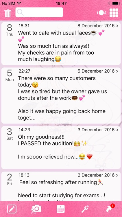 Moment Diary Tale