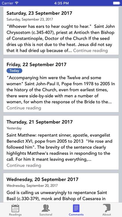 Daily Readings for Catholics screenshot-3