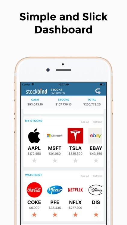 StockBind - Stock Trading Game