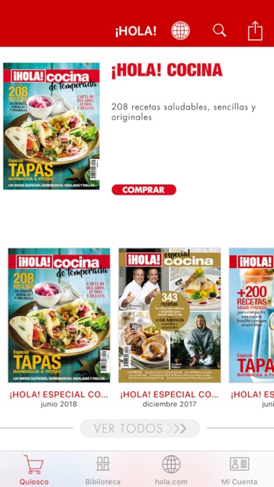 Screenshot for ¡HOLA! ESPAÑA Revista impresa in Peru App Store