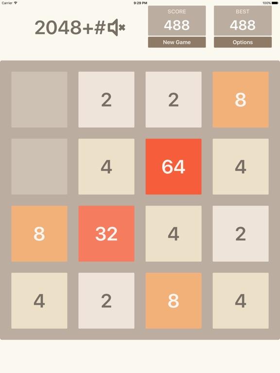 Игра 2048+# - Math puzzle game