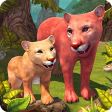 Activities of Cougar Family Sim Wild Forest