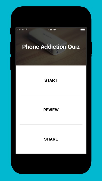 SCheck: Phone Addiction Quiz