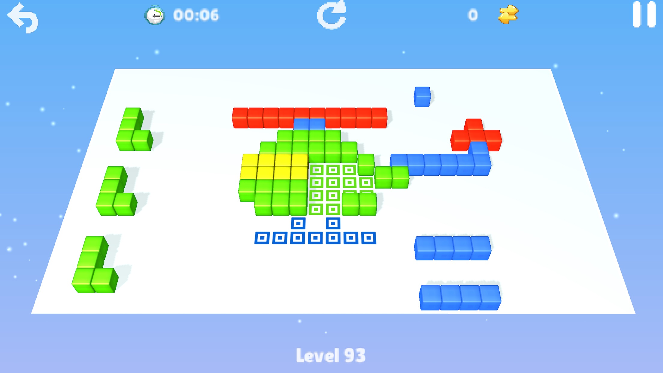 Screenshot do app Cubes : brain teaser