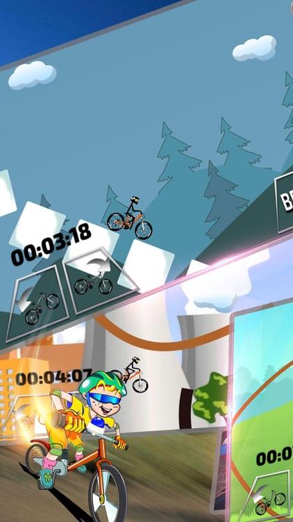 越野骑手:自行车爬酷模拟游戏