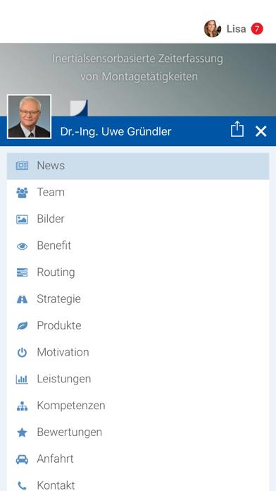 Dr.-Ing. Uwe Gründler screenshot 2