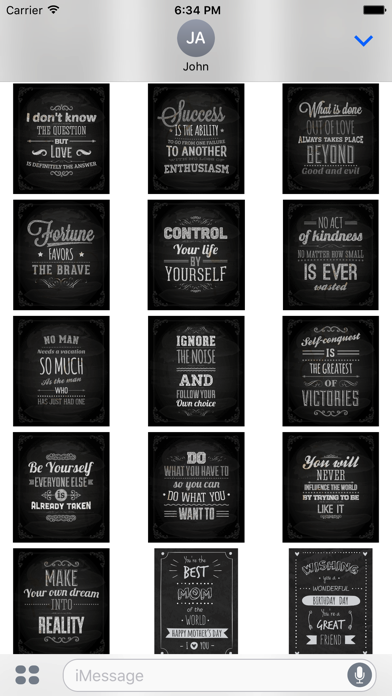 Chalkboard Quotes - Positive & Inspiration & Love screenshot 4
