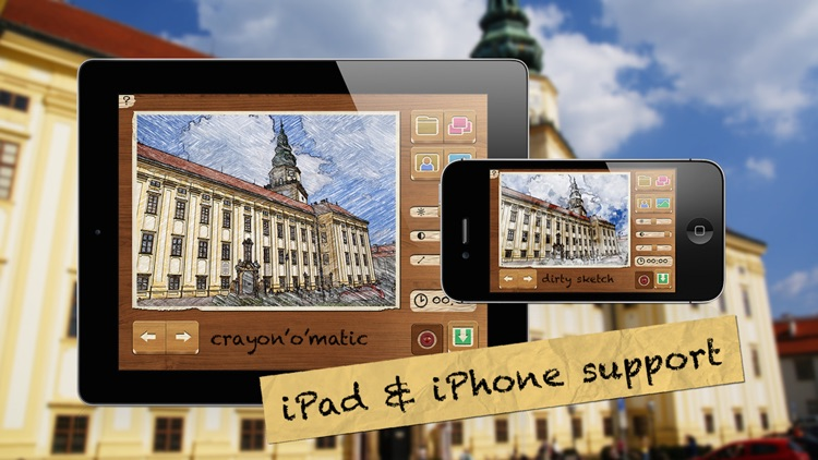 Pencil Camera HD screenshot-4