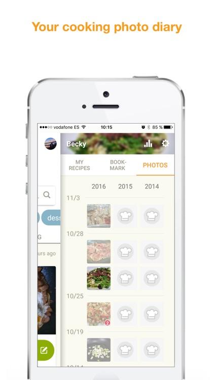 Cookpad - great recipe sharing screenshot-4