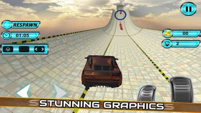 Vertical Ramp Stunts: Car Driv screenshot 1