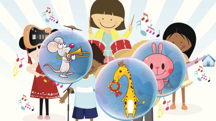 Music Bubbles for Toddlers screenshot-3