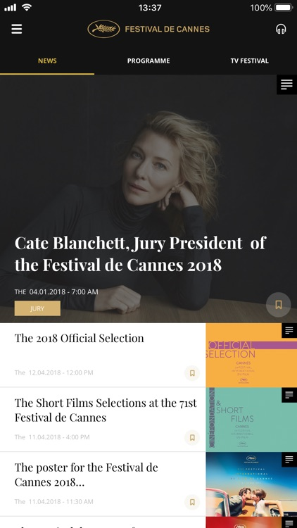 Festival de Cannes - Official