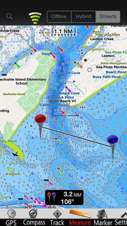 Georgia GPS Nautical Charts screenshot-3