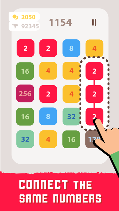 2248 Linked: Number Puzzle screenshot 2