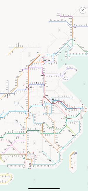 Hangzhou Subway Map.Metro China Subway On The App Store