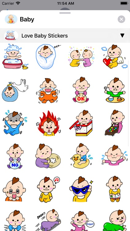 Baby Stickers • screenshot-5