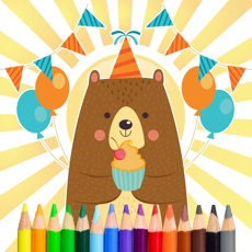 Activities of Bear Coloring and Painting Book