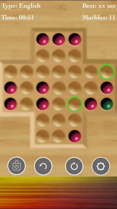 Brainvita Solitaire : Premium! screenshot 3