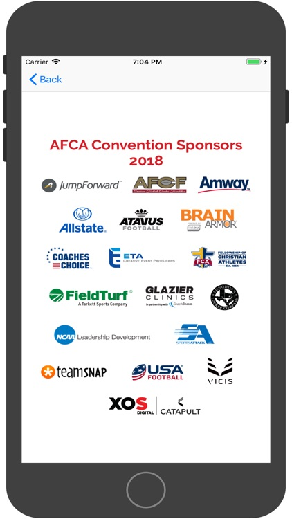 AFCA Mobile 2018 screenshot-4