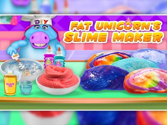Mr. Fat Unicorn Slime Making screenshot 4