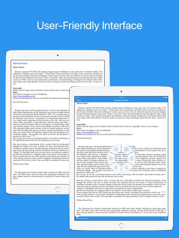 MOBI Reader - Reader for mobi, azw, azw3, prcのおすすめ画像1