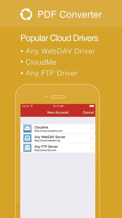 PDF Converter by Flyingbee screenshot-3