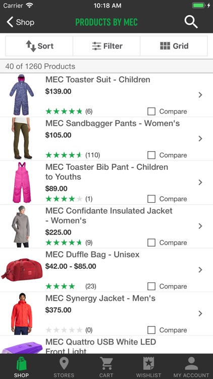 Shop MEC screenshot-1