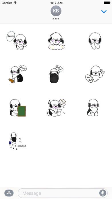 Shaggy Dog ShaggyMoji Sticker screenshot 3