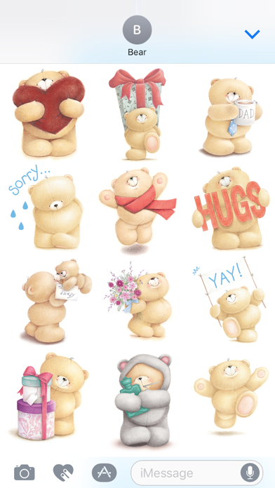 Forever Friends Stickers