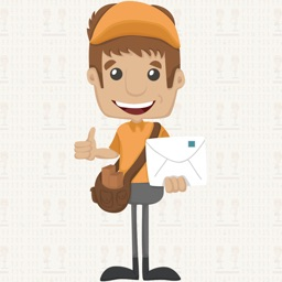 Messenger Boy:Animated Sticker