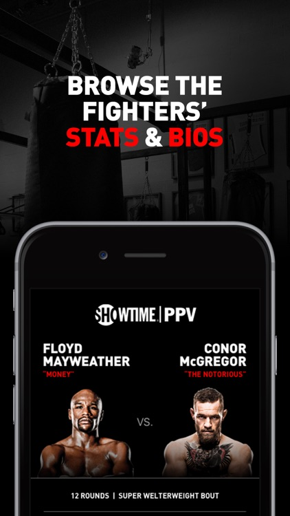 SHOWTIME PPV- Mayweather vs. McGregor- Stream Live screenshot-3