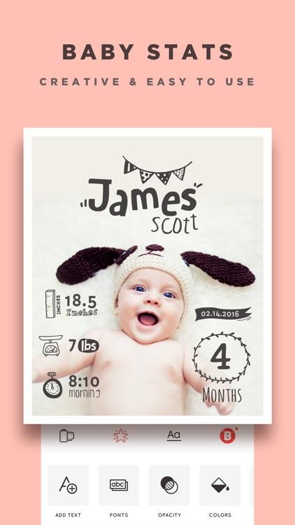 Baby Story - Pics Editor screenshot-3