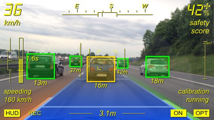 Augmented Driving