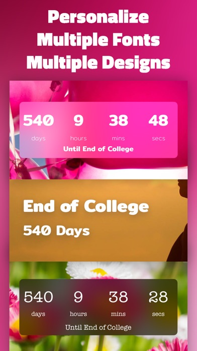 Countdown Timer Count To Days By Saar Baruch Ios United States
