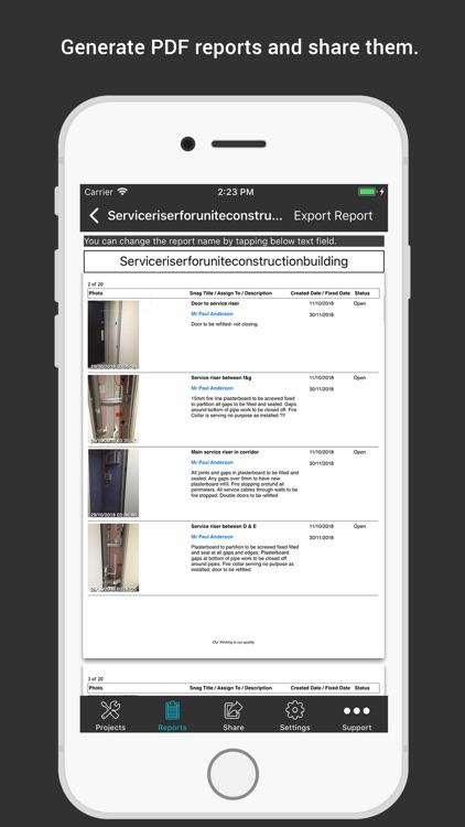 SnagBricks - Site Auditing screenshot-6