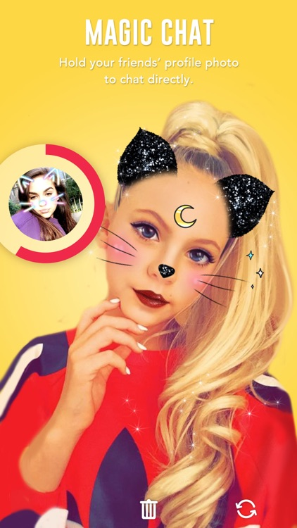 BOO! - Video chat camera with filters & stickers
