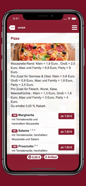 Pazzo Pizza On The App Store