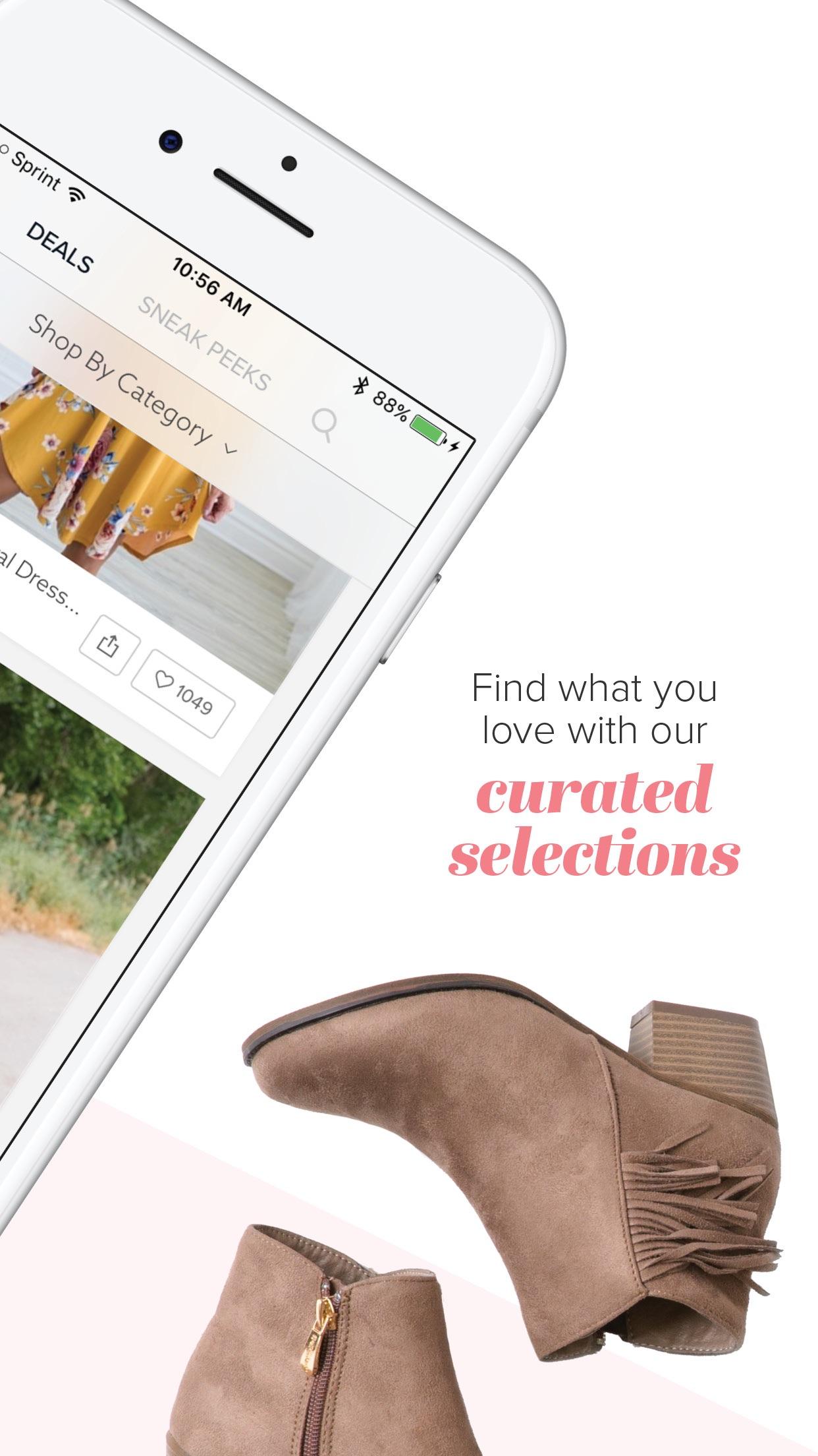 Jane - Boutique Shopping Deals Screenshot