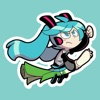 Miku Let's Go Sticker Pack - iPadアプリ