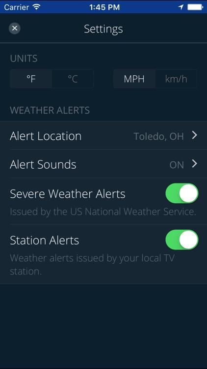 WNWO NBC 24 Weather Authority screenshot-4