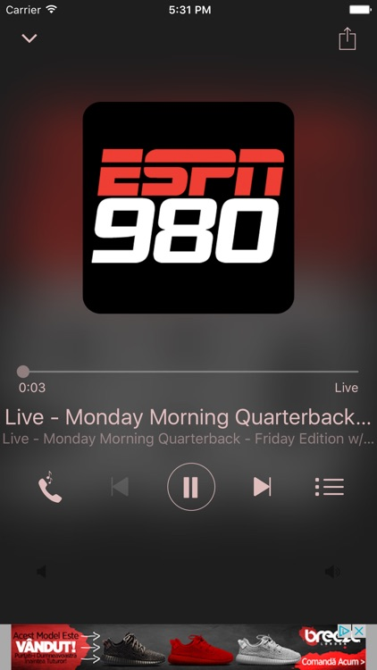 ESPN 980 screenshot-1