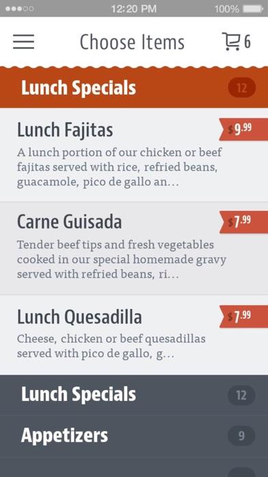 MasFajitas Mexican Restaurant screenshot 3