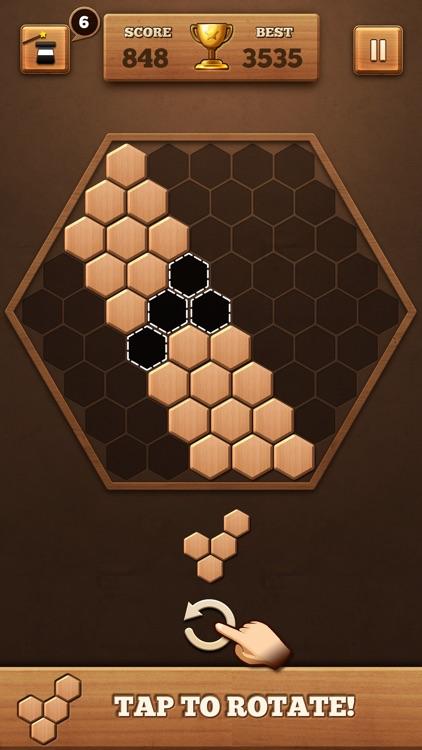 Fill Wooden Block: Wood Puzzle screenshot-0