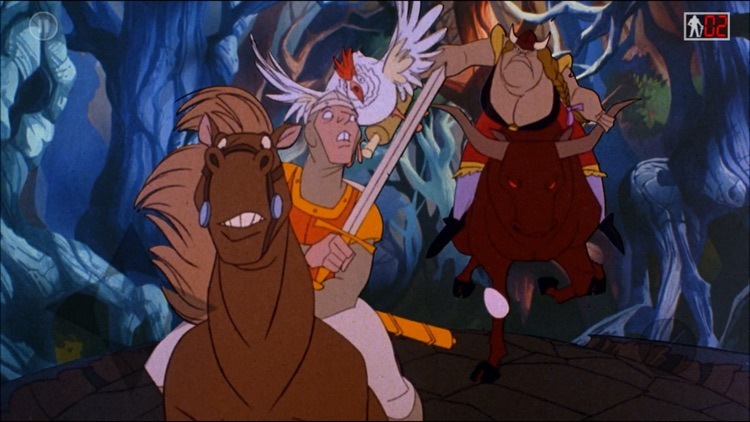 Dragon's Lair 2: Time Warp screenshot-1