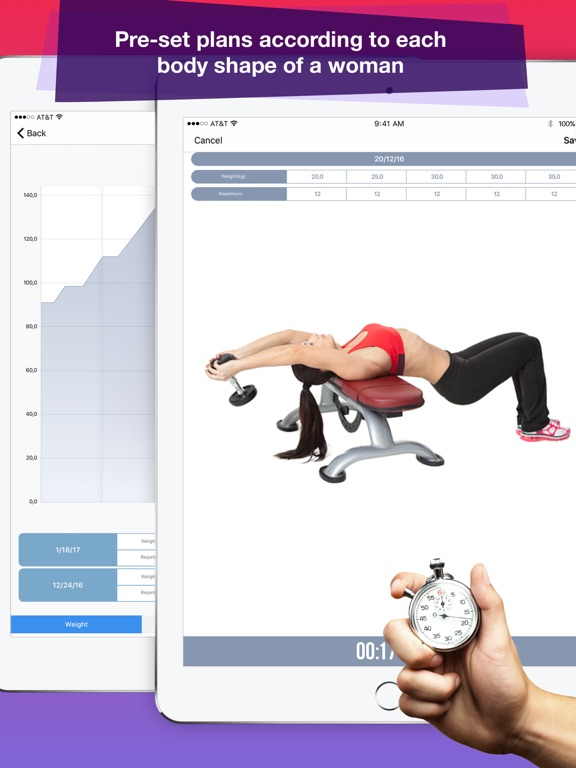 Female Fitness: Best Exercises Screenshots