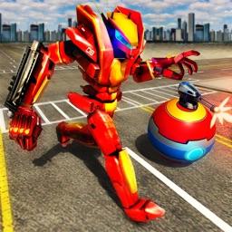 Robot Ball War