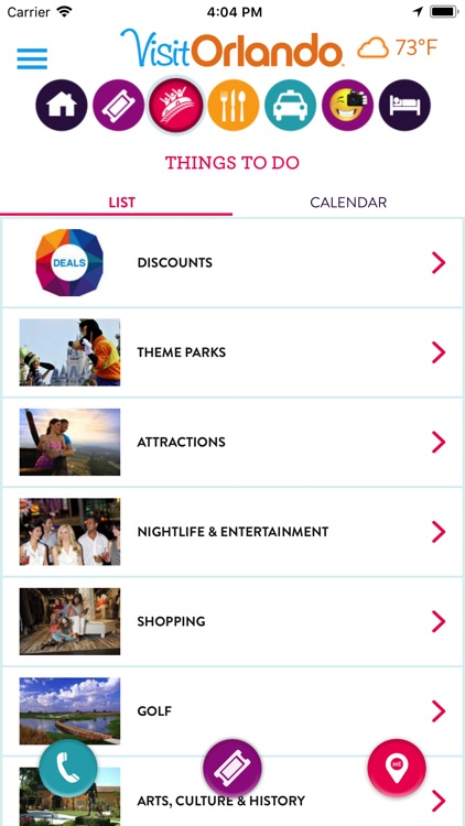 Visit Orlando Destination App screenshot-3