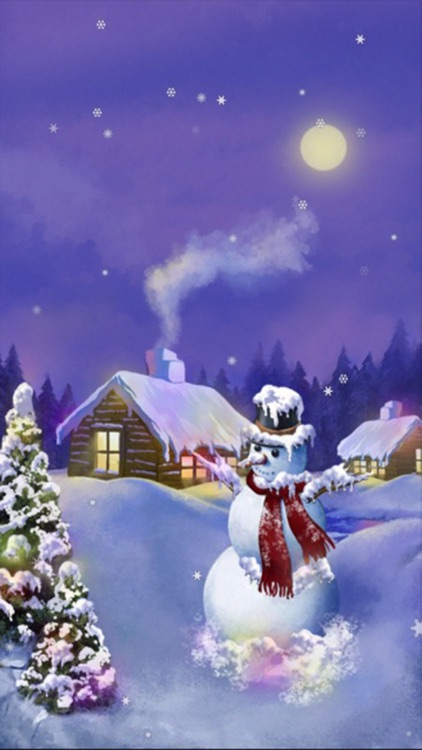 Kira Christmas Snow Lite screenshot-4