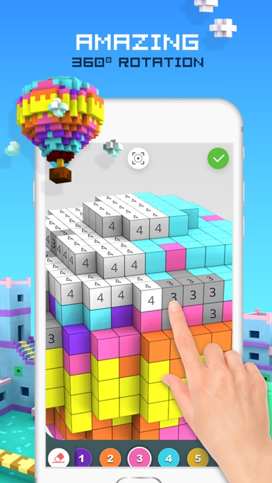 download ColorZ - 3D Pixel Art apps 3